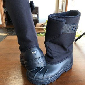 IGOR EU 33 Navy Rain/Snow/Ski Boots like new!